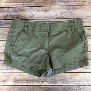 J. Crew Olive Shorts